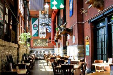 The Rathskeller beer bar in Indianapolis