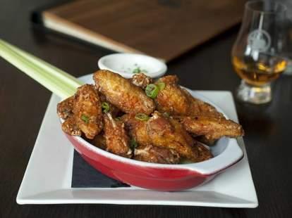 Fountainhead Chicago chicken wings thrillist food