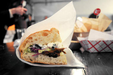 chicken sandwich from Kotti