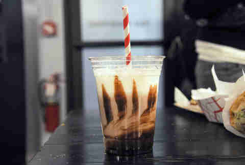 Egg cream from Rubyzaar Baked
