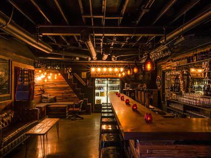 Interior of Bar at Speakeasy Tap Room