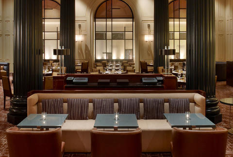 Interior of Dining Room at Bourbon Steak