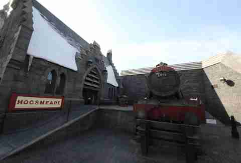 Hogwarts express universal studios hollywood