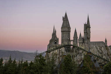 Hogwarts castle harry potter los angeles