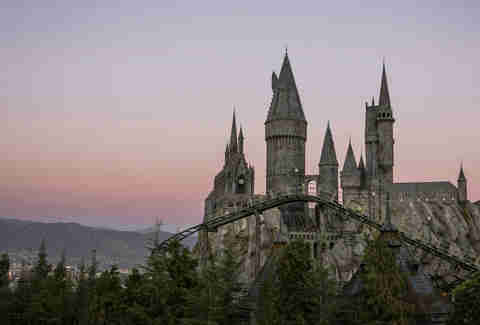 Hogwarts castle harry potter los angeles
