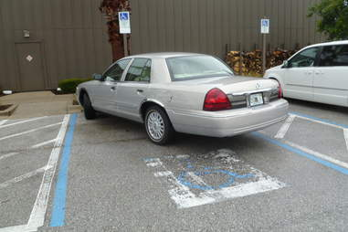 Florida handicapped parking