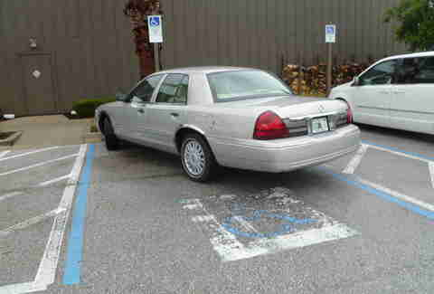 Florida handicapped parking