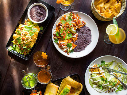 Plates at Gracias Madre