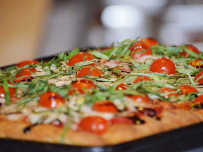 Prosciutto E  Pomodorini Pizza at Tony's Pizza Napoletana