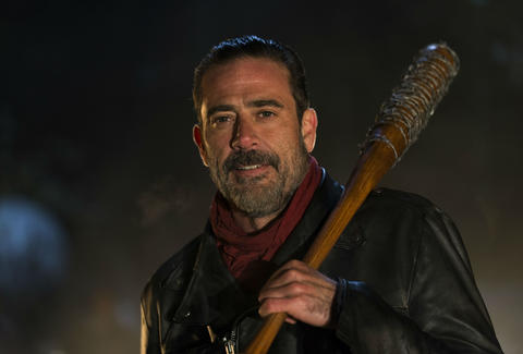 walking dead jeffrey dean morgan as negan