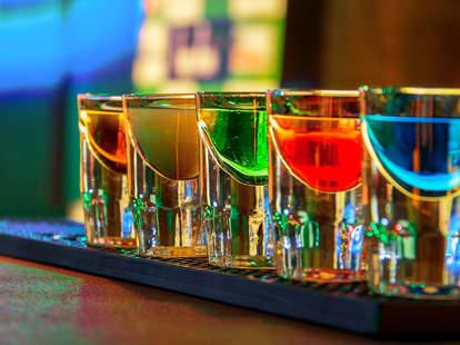colorful shots