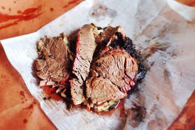 beef brisket from Killen's BBQ