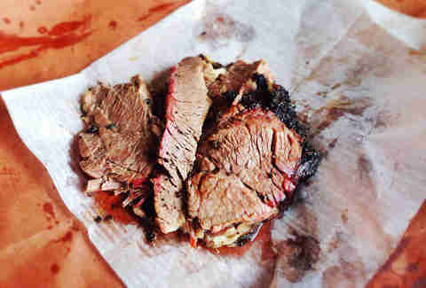 beef brisket from Killen's BBQ
