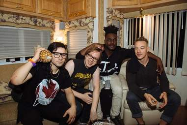 Skrillex, Diplo, and DL