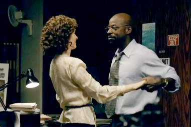 Sarah Paulson and Sterling K Brown on American Crime Story