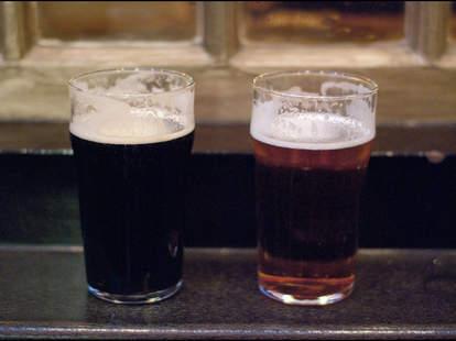 double down saloon dark beer new york city thrillist