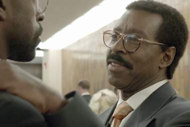 Courtney B Vance and Sterling K Brown on American Crime Story