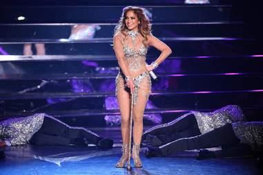 Mariah Carey performing in Las Vegas stage