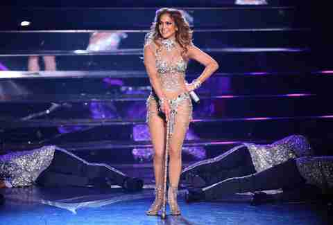 Mariah Carey performing in Las Vegas stage