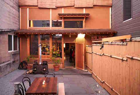 Exterior of Patio and Entrance to Izakaya Rintaro