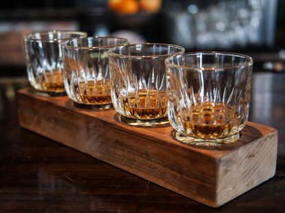 whiskey glasses new york bourbon thrillist