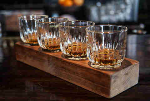 whiskey glasses new york bourbon thrillist