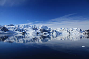 Antartica paradise harbor peninsula