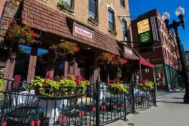 Exterior of Orso's Italian Restaurant in Chicago
