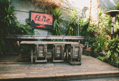 Exterior of Patio at El Rio