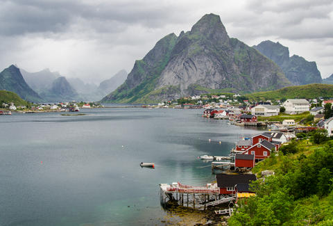 Lofoten in Norwat
