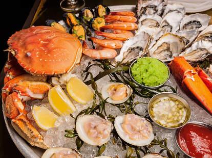 Shellfish Platter at Bar Crudo