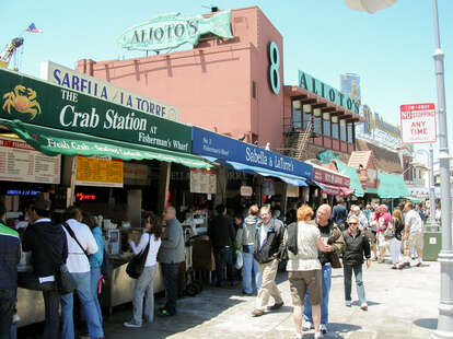 Exterior of The Crab Station Storefront