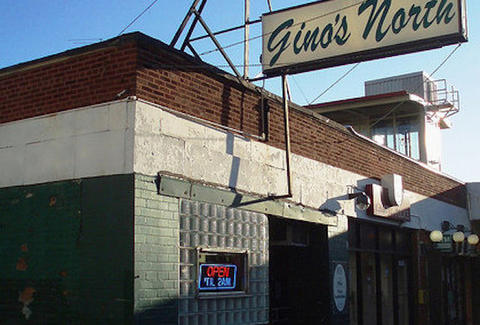 Gino's North outdoor chicago sign thrillist