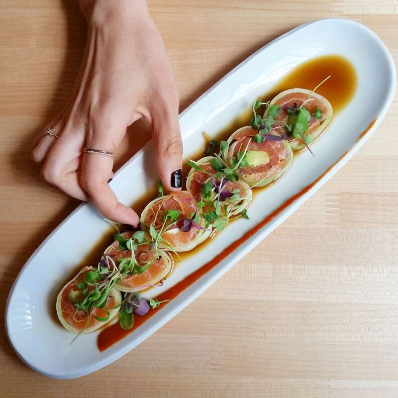 Hamasaku, sushi
