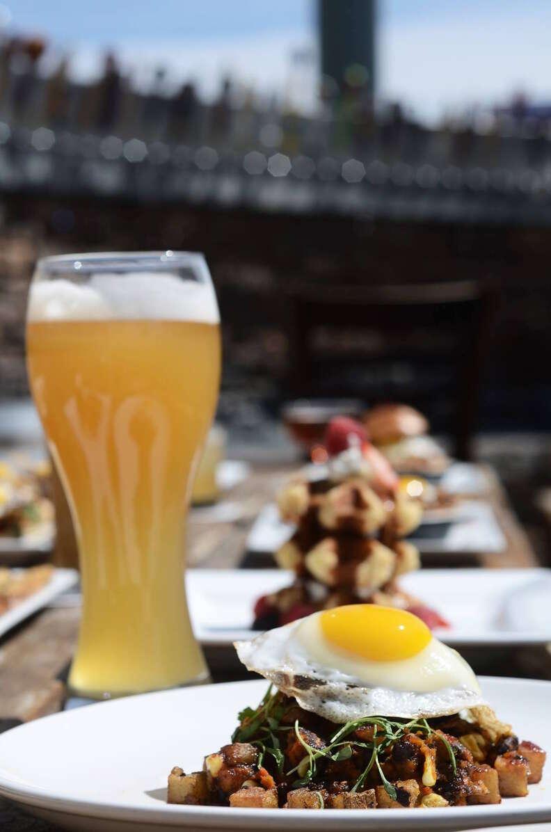 the hoppy monk beer brunch