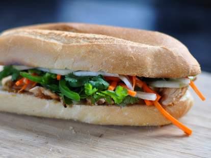 Banh Mi Sandwich at Banh Mi Ba Le