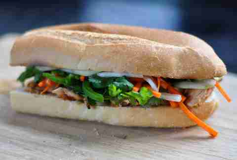 Banh Mi Sandwich at Banh Mi Ba Le