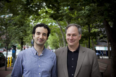 RadioLab's Jad Abumrad and Robert Krulwich