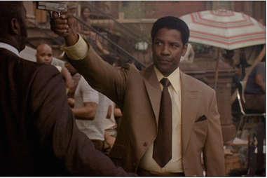 American Gangster with Denzel Washington
