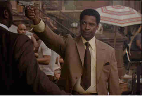 American Gangster with Denzel Washington