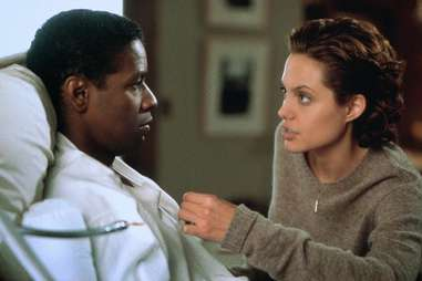The Bone Collector with Angelina Jolie and Denzel Washington