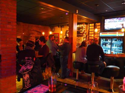 Jukebox bar in Cleveland