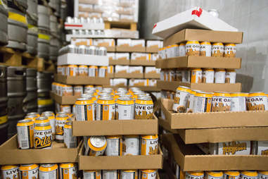live oak in cans
