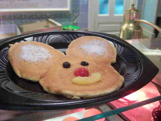 Mickey Mouse Pancake, River Belle Terrace pancake