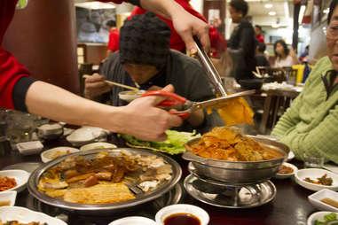 Mukeunji pork belly and kimchi stew