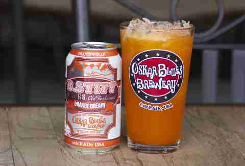 Oskar Blues B. Stiff orange cream soda