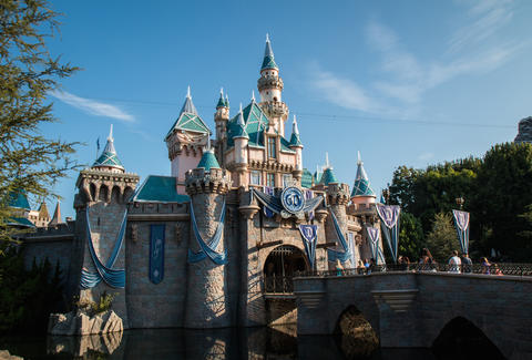 Sleeping Beauty Castle Disneyland Resort