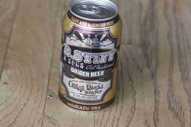 Oskar Blues B. Stiff ginger beer