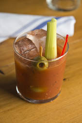 Cow and Clover, bloody mary
