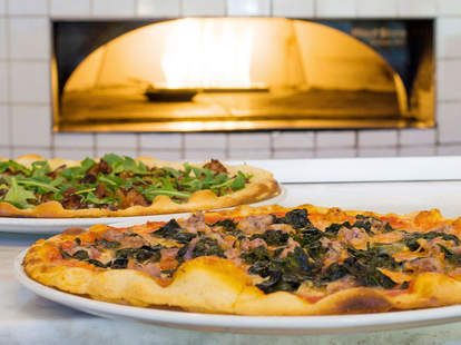 Brick Oven Pizza's from Rose's Cafe